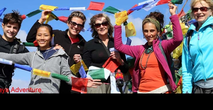 Female Guides, Assistants and porters for female Trekkers in Nepal.