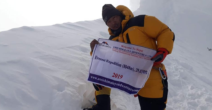 Mt. Everest Expedition 61 Day(s)
