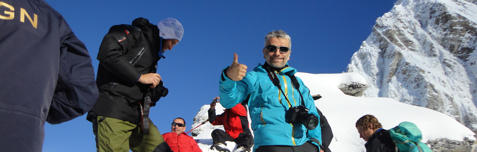 Trekking to Kala Pathar  5545m. (Everest Region)