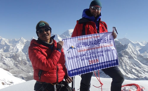 Everest Base Kalapatter (5545m Trekking and Island Peak climbing 21 Days